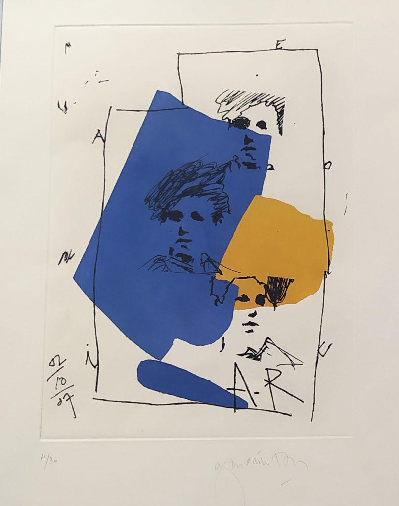 Sans titre (4/30) / 2007 / tirage sur papier encadré / H. 46 : L. 61 cm