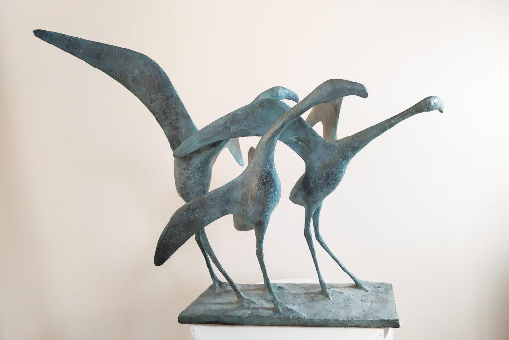 Pierre Yermia - Envol Trois Oiseaux