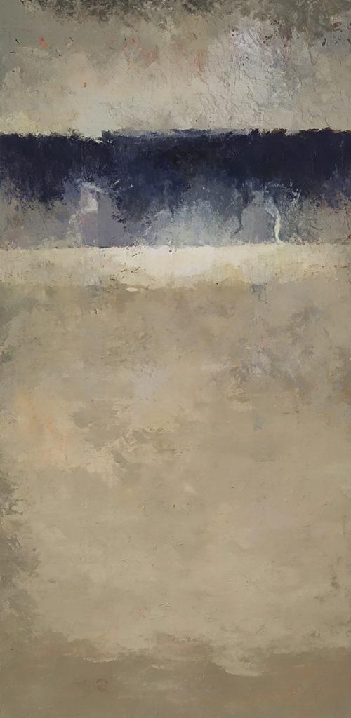 Sans titre / Technique mixte sur bois / H. 80 : L. 40 cm