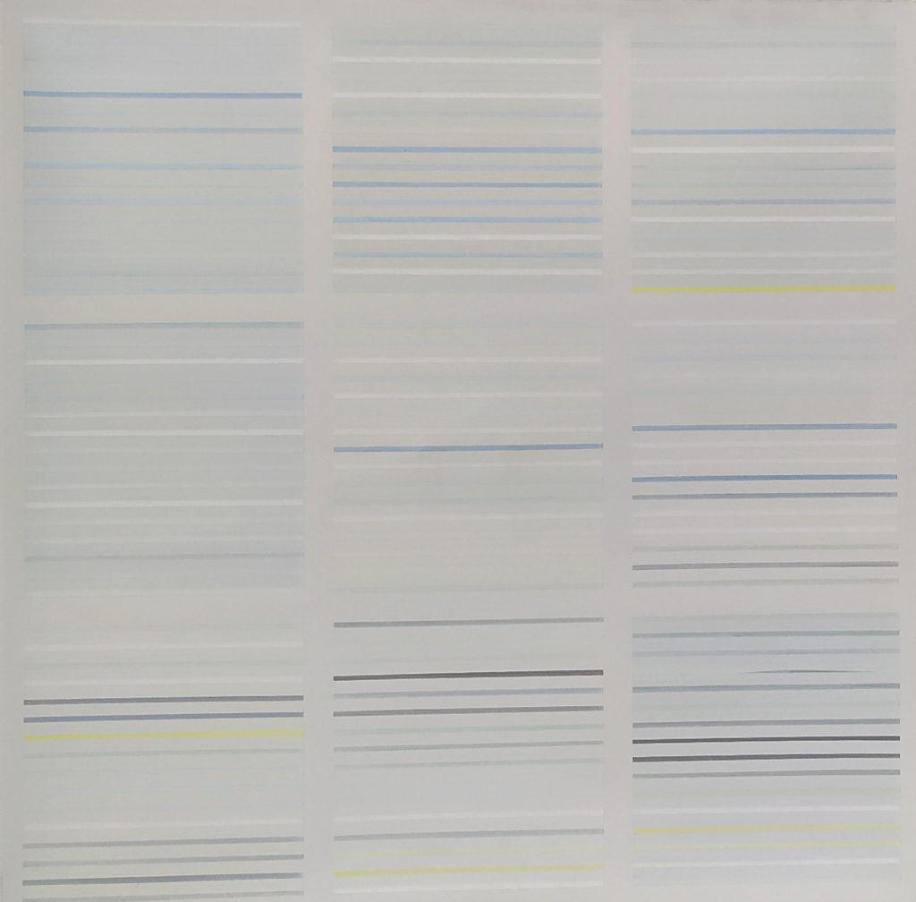 Lignage / 2005 / Huile sur toile / H. 60 : L. 60 cm