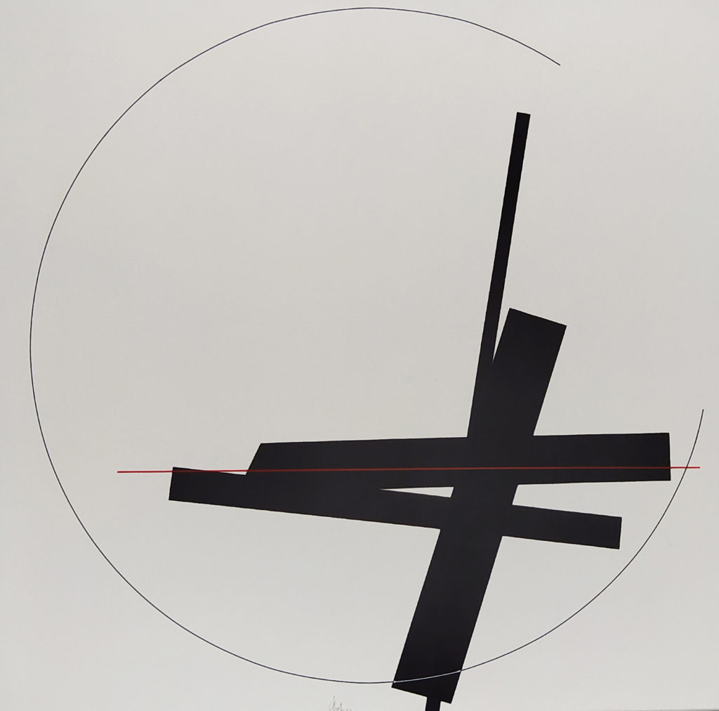 Sans titre / 2005 / Acrylique sur Toile / H. 50 L. 50 cm