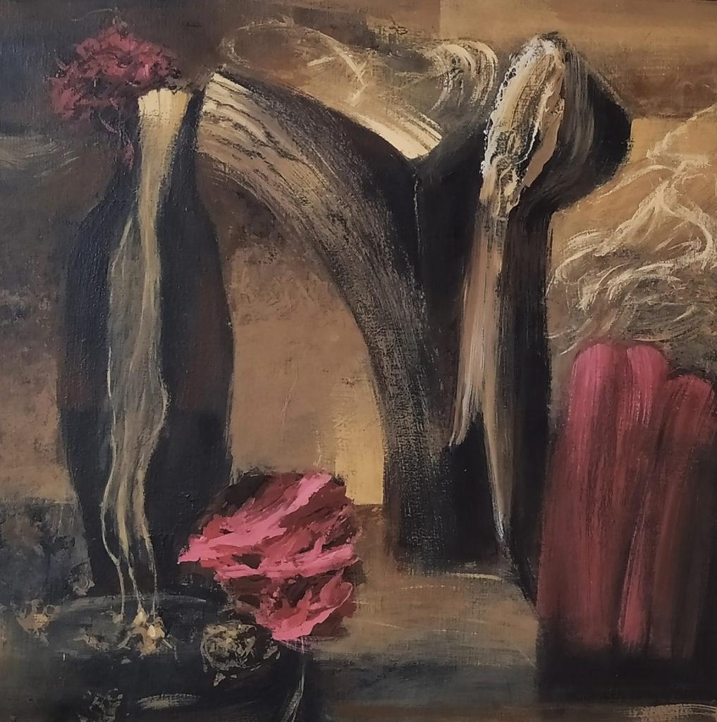 Amnésia / 2010 / Acrylique sur toile / H. 70 : L. 70 cm