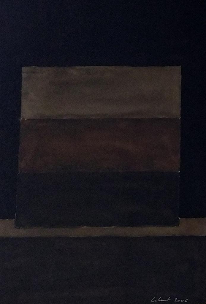 Sans titre / 2006 / Aquarelle sur papier encadrée / H. 36 : L. 25 cm