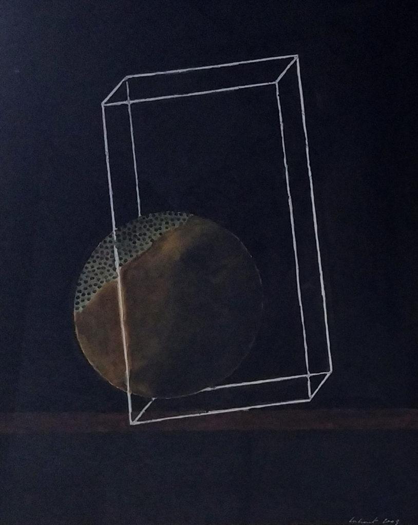 Sans titre / 2003 / Aquarelle sur papier encadrée / H. 43 : L. 35 cm