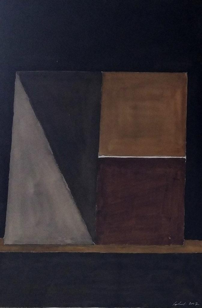 Sans titre / 2007 / Aquarelle sur papier encadrée / H. 51 : L. 36 cm