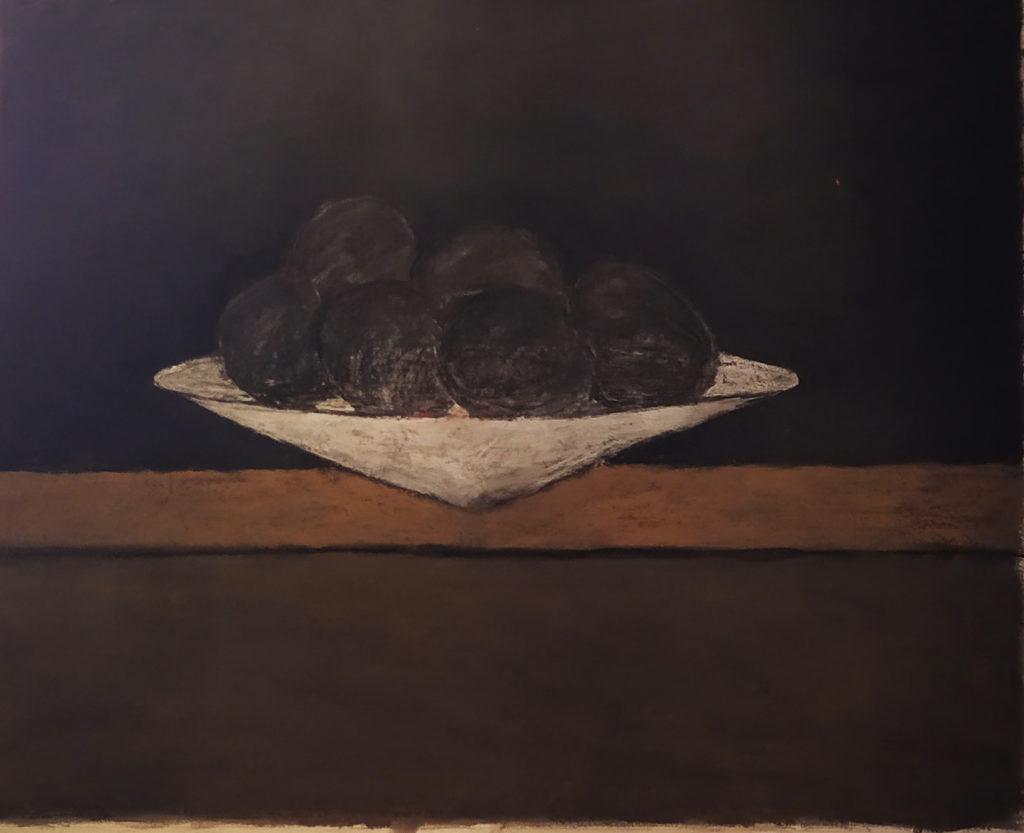 Sans titre / 1997 / pastelle sur papier encadré / H. 65 : L. 81 cm