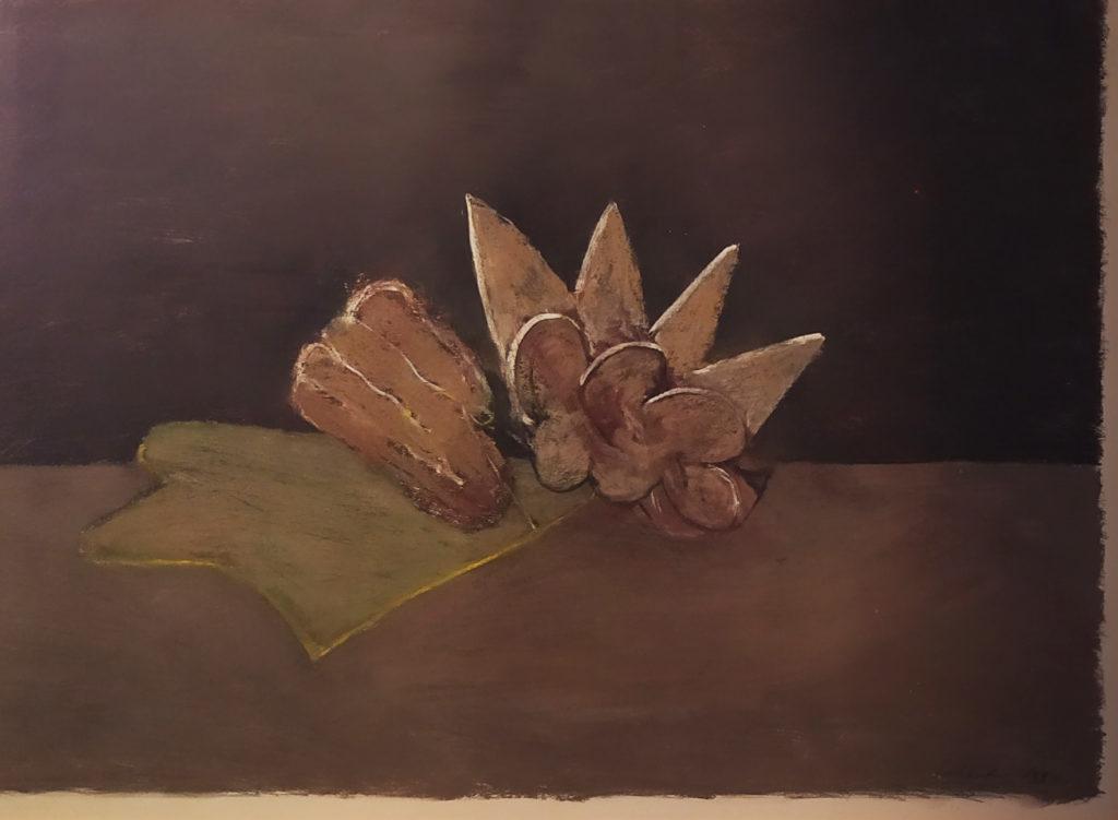 Sans titre / 1997 / pastel sur papier encadré / H. 72 : L. 98 cm
