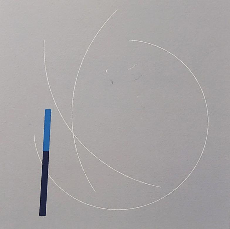 Composition grise / 2013 / Sérigraphie numérotée en couleur / H. 50 L. 31 cm