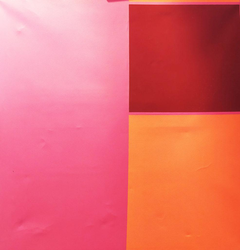 Plan de Glissement / Acrylique sur toile / H. 80 : L. 80 cm