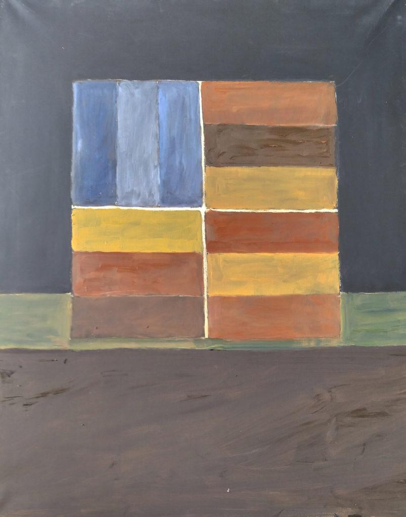 Sans titre / 2007 / Huile sur toile / H. 100 : L. 81 cm