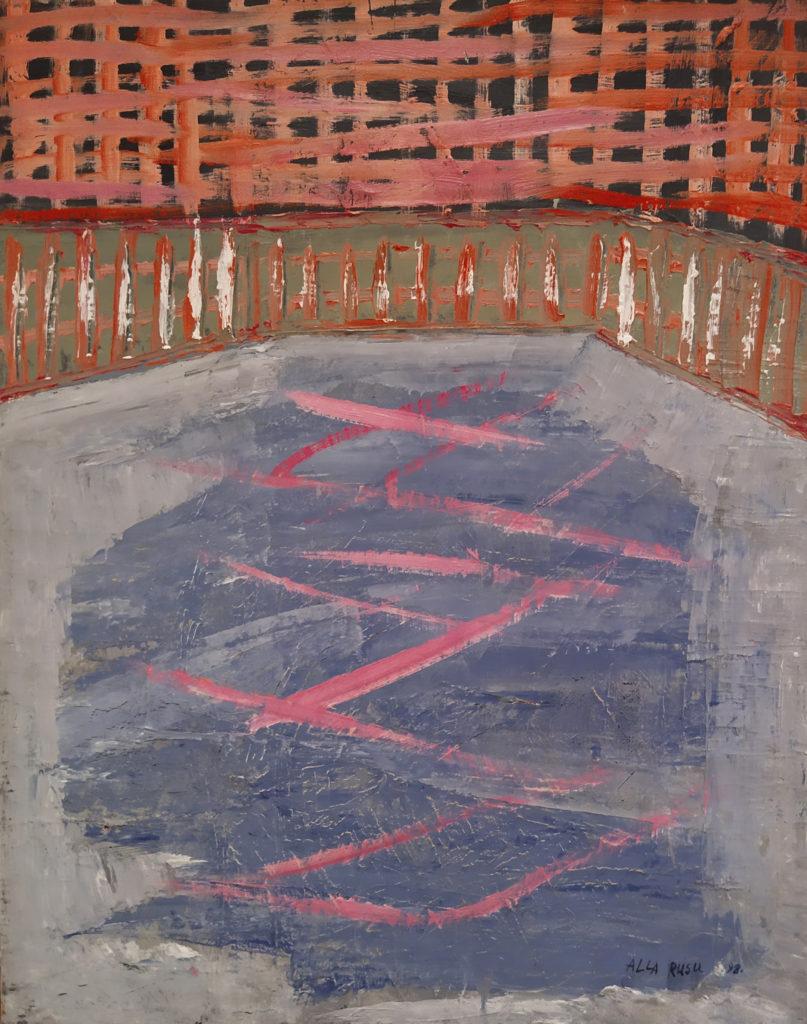 Venise / 1998 / Huile sur toile / H. 60 : L. 50 cm