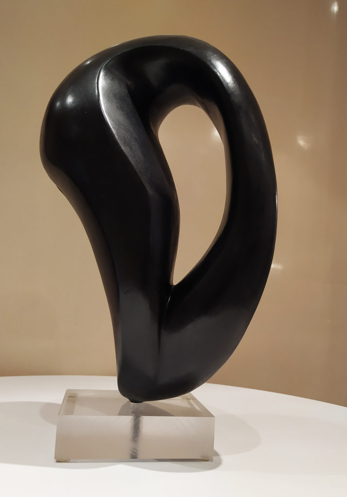 Naaja V (1/8) / 2012 / bronze / terrasse : 15 x 12.5 : H. 40 cm