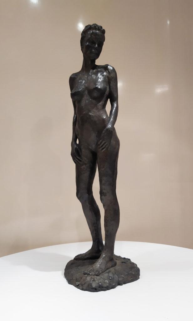 Marie Debout (1/8) / 2012 / sculpture bronze (Fonderie Avangini) / L. 20 : H. 74 cm